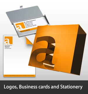 Logos, Business cards and Stationery